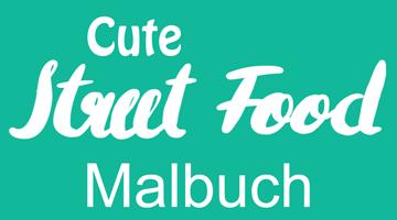 Cute Street Food Malbuch