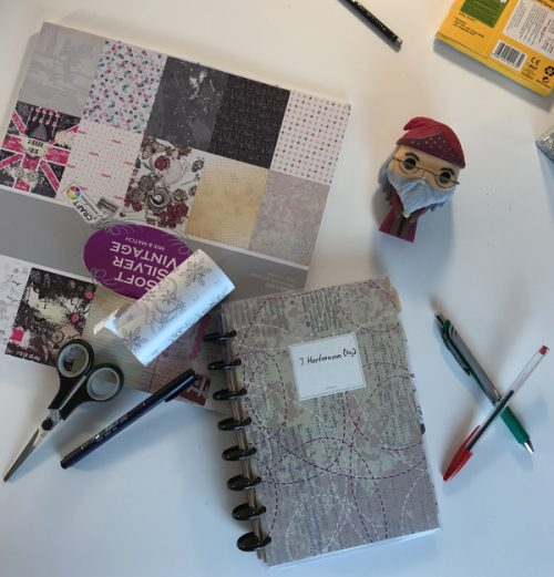 Bullet Journal im Disc-Bound-Format