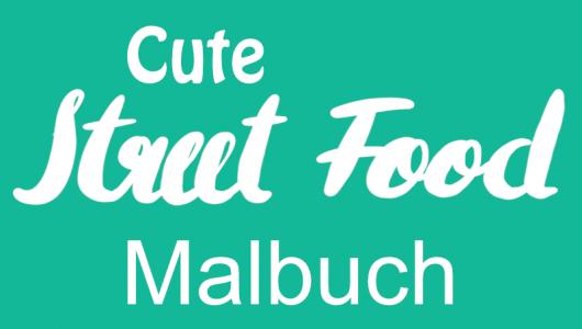 Cute Street-Food Malbuch